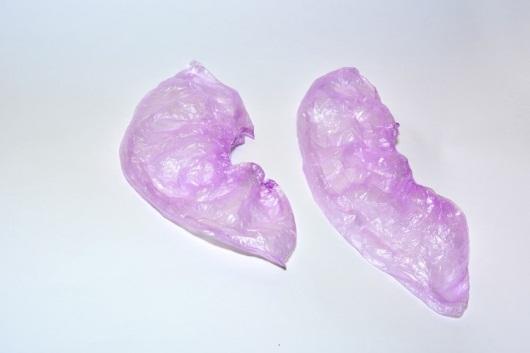 Бахилы полиэтиленовые Плотные фиолетовые (3.0 гр.)