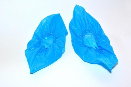 Бахилы полиэтиленовые Особо прочные (6,15 гр.)